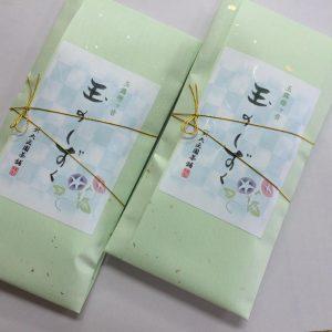 宇治玉露雁ケ音・・数量限定商品 <br> 100g 1,620円(税込),<br>日本一品質の良い茶処・宇治においても一年間で本当に限られた数量でしか摘採されない高品質の幻のお茶。