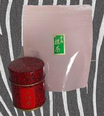 御抹茶(おうす)<br>40g缶入・40g袋入<br>856円・972円